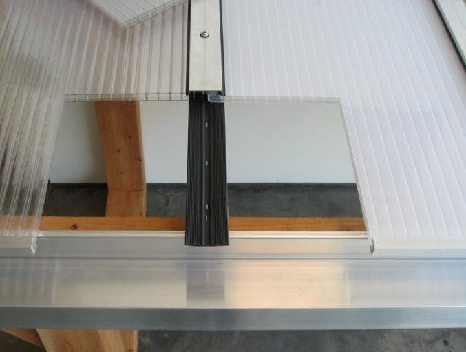 Profielset t.b.v. beglazing en polycarbonaat panelen